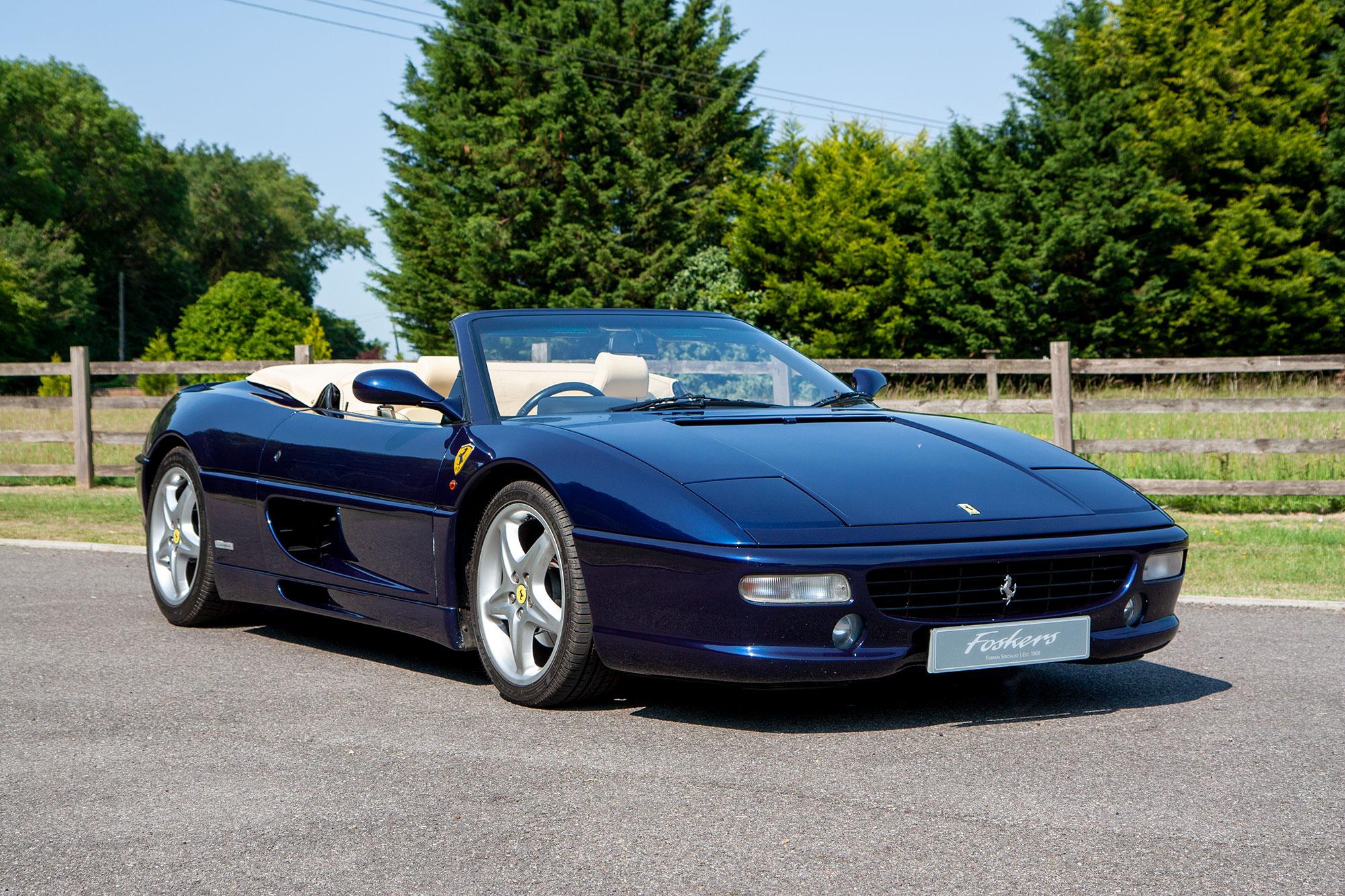 1996 Ferrari F355 Spider Manual For Sale Kent London Foskers